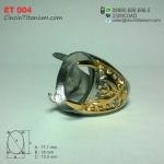 Cincin Emban Titanium ET 004