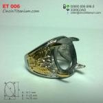 Cincin Titanium Emban ET 006