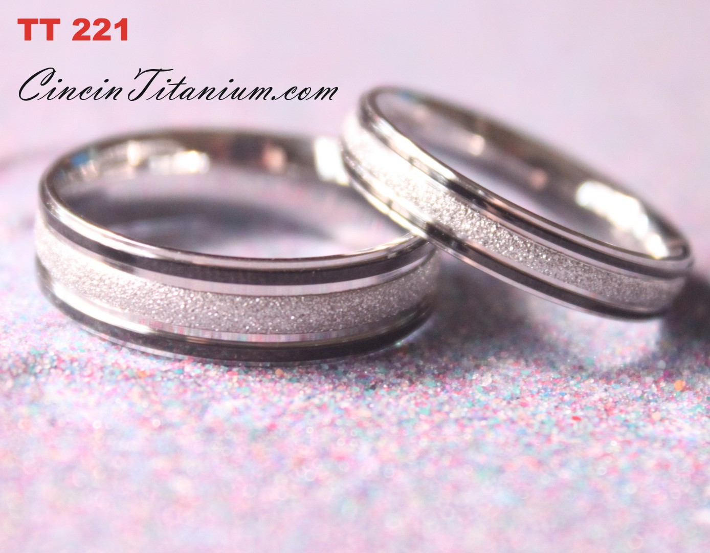 Cincin Titanium Couple