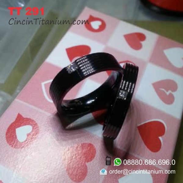 Cincin hitam titanium | Cincin Titanium Hitam ASLI ...