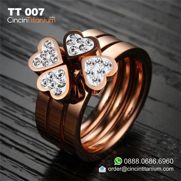 Cincin Titanium Kuning