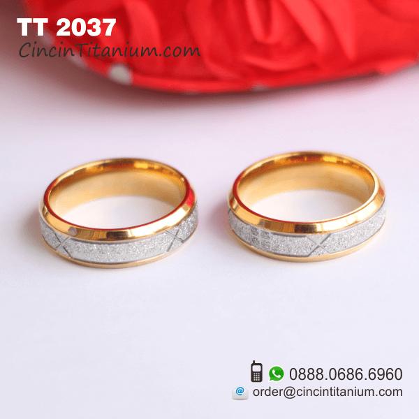 Cincin Titanium TT 2037